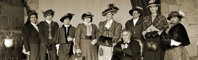 ELEGANT MEETING XIX Century