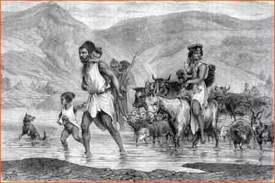 Pobladores de la Kabilia