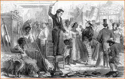 Venta de esclavos