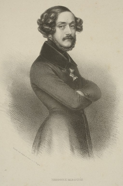 "Isidore MAGUÉS. ""Isidore Magués"". 1837."
