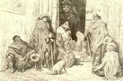 Gustave Doré. Mendiants