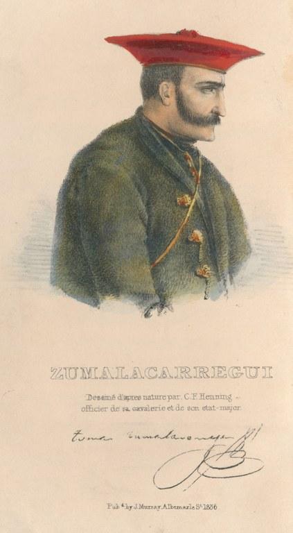 "HENNINGSEN Charles Frederick. ""Zumalacarregui"". 1836."