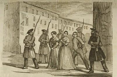 [Detención y traslado a Tolosa de la mujer e hija de Muñagorri]