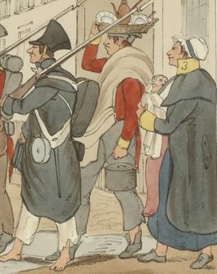 Legión Británica (detalle)