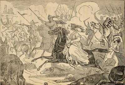 Mrs Millar escapando de los carlistas