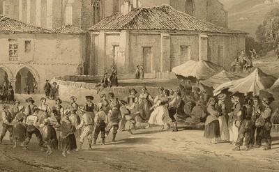 Aurreskua en Begoña (Bilbao)