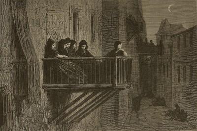 Balcones en Vitoria