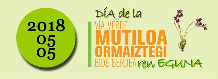 Día de la Vía Verde Mutiloa Ormaiztegi 2018