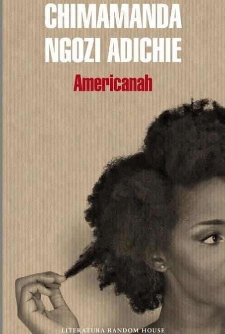 Americanah liburuaren azala