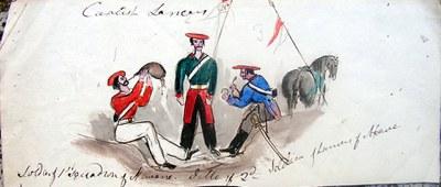Nafarroako batailoiko partaideak