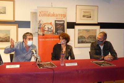 Rueda de prensa del concierto Hezurbeltzak