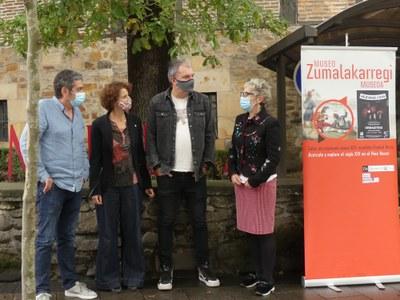 Ayer celebramos la rueda de prensa del concierto del grupo Hezurbeltzak