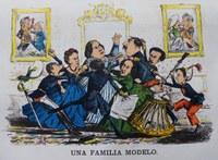 Caricatura de lo Borbones, ¿quién es quién?