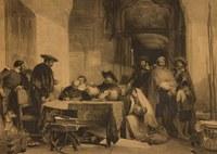 Donación de un grabado de John Frederick Lewis