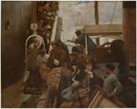 "El proyecto ""Migraciones"" en marcha en el Museo Zumalakarregi."