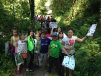 Nos lo pasamos genial en el 5º Día de la Vía Verde Mutiloa-Ormaiztegi