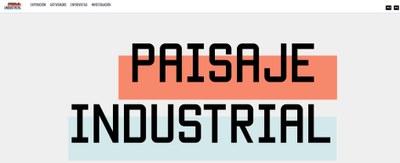 """Presentamos el proyecto """"Paisaje industrial"""""""
