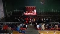 Gran concierto del grupo Hezurbeltzak en Ormaiztegi