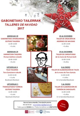 Talleres de Navidad 2017