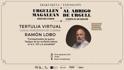 Tertulia mantenida con Ramón Lobo