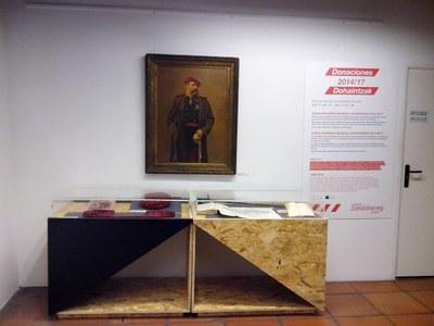 """Últimos días de la exposición temporal """"Donaciones 2014-17"""""""