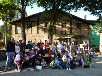 Éxito de la 3ª edición del Día de la Vía Verde Mutiloa-Ormaiztegi