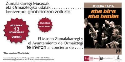 Concierto Joseba Tapia Kontzertua