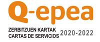 Carta de servicios. Certificación Q-epea