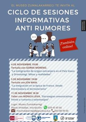 ZM_Migrazioak_Ciclo de sesiones informativas anti rumores_2020.10.30