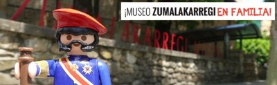 Folleto didáctico  ¡Museo Zumalakarregi en familia!
