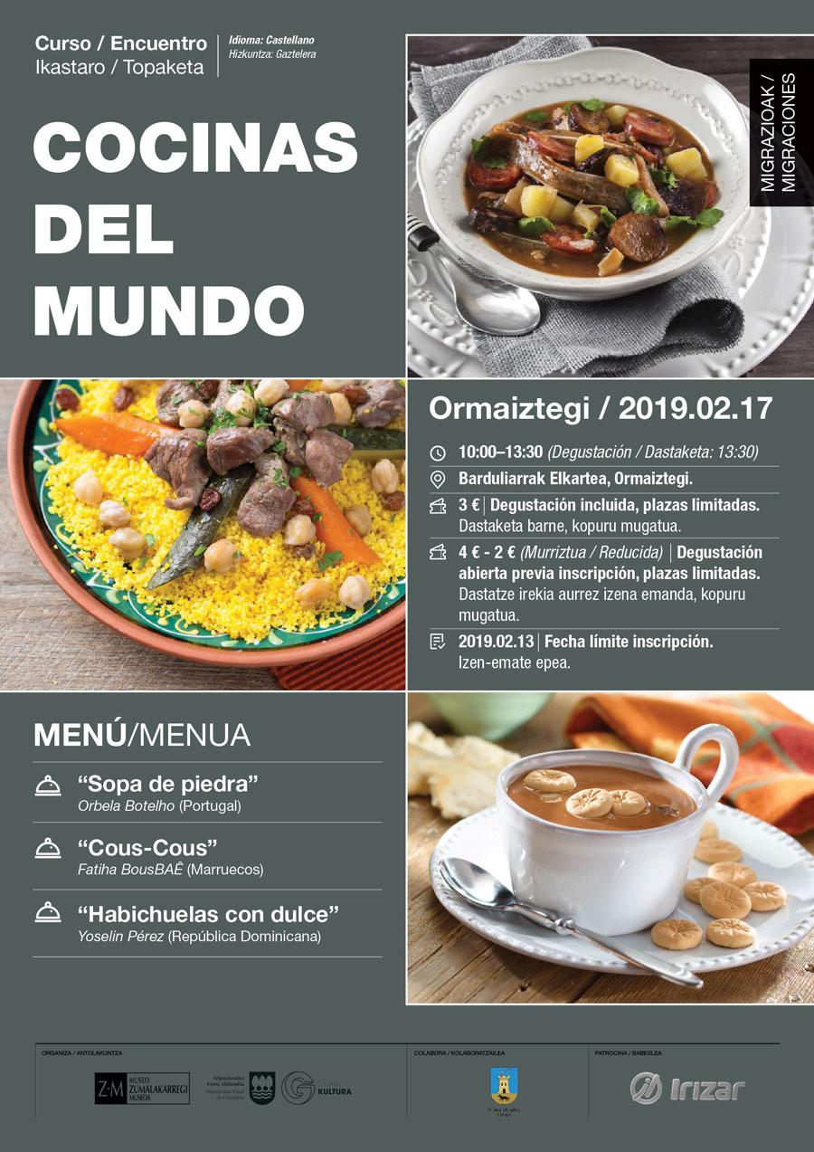 """""""Cocinas del mundo"""""""