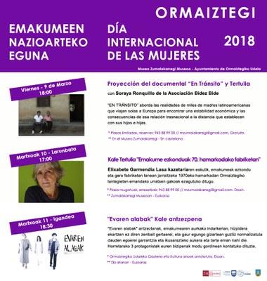 Emakumeen Nazioarteko Eguna 2018