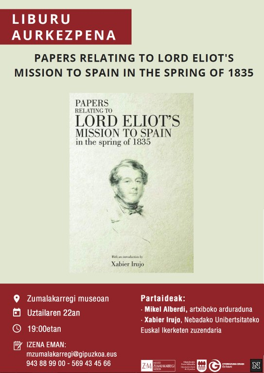 Papers relating to Lord Eliot's mission to Spain in the spring of 1835