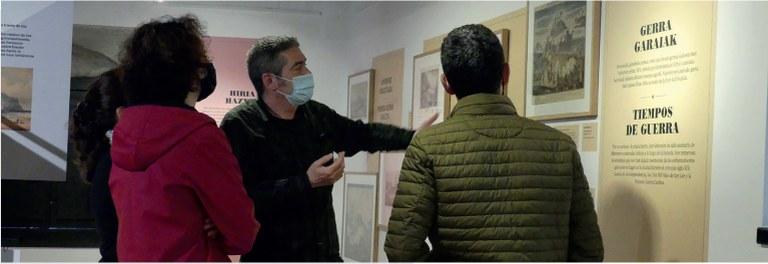 Bisita komentatuak Zumalakarregi Museoan