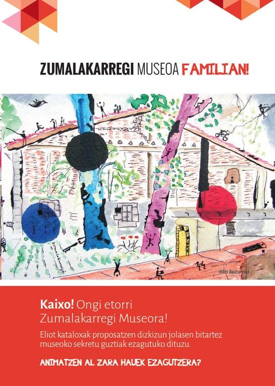 Zumalakarregi Museoa familian. Material didaktikoa