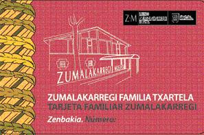 Eskuratu zure Zumalakarregi Familia Txartel berria!
