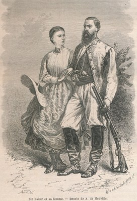 Florence von Sass, Lady Baker (1841-1916)