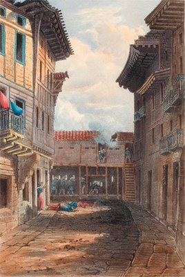 Irun Fontarabia gate