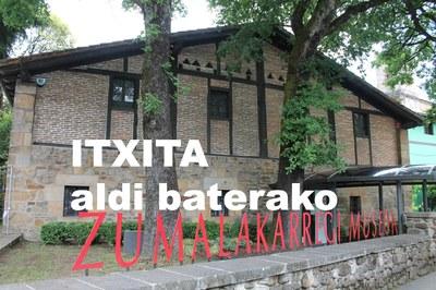 Museoa ITXITA egongo da aldi baterako