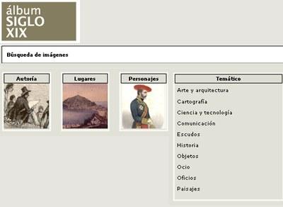 album siglo XIX