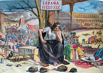 Mientras la España consienta tales espectáculos, nunca saldrá de la postración en que yace.