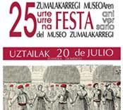 Museoaren 25 urteurren Festa