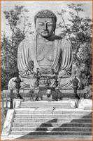 Buda erraldoia Kamakuran (Japon).