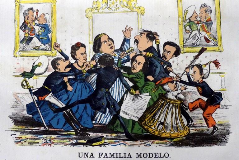 Los Borbones, una familia modelo. Conflictos familiares y dinásticos. Revista LA Flaca.