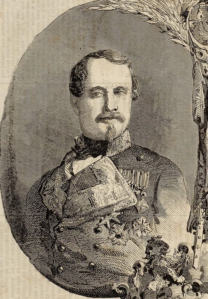 Afrikako gerra. Leopoldo O'Donell, Gobernuko Lehendakaria eta Marokora bidalitako armadaren burua. (ZM)