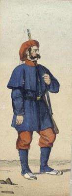 Euskal Tertzioetako soldadua