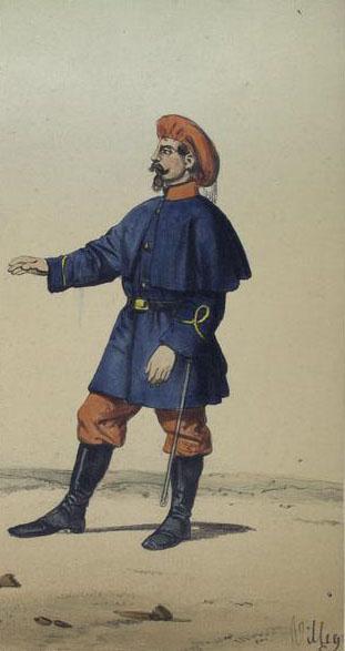 Euskal Tertzioetako tenienteordea.