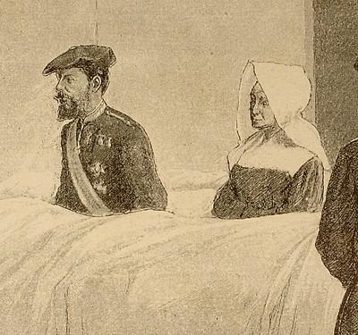 Don Karlos Iratxeko ospitalea (Nafarroa) bisitatzen (xehetasuna)