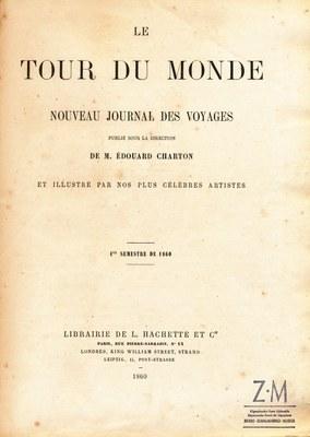 Zumalakarregi Museoa. Le Tour du Monde. 1860