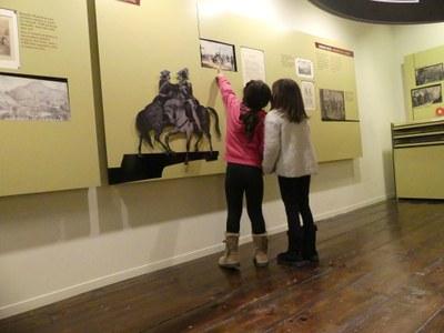 Museoko bisitari txikiak